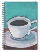 Morning Coffee Spiral Notebook