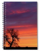 Morning Country Sky Spiral Notebook