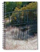 Morning Dew At Pendleton Park 2 Spiral Notebook
