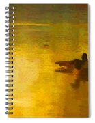 Morning Ducks Spiral Notebook
