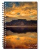 Morning Fire Spiral Notebook