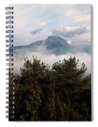 Morning Fog In Autumn In The Verdon Spiral Notebook