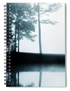 Morning Fog Spiral Notebook