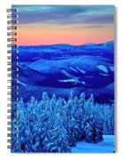 Morning From Timberline Lodge Spiral Notebook