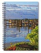 Morning Glory 2 Spiral Notebook