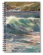 Morning Glow On Sugar Beach Spiral Notebook
