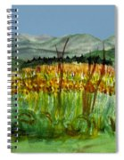 Morning In Backyard At Barton Spiral Notebook