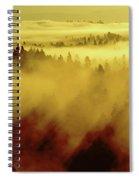 Morning In Spokane Spiral Notebook