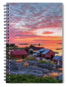 Morning In The Archipelago Sea Spiral Notebook