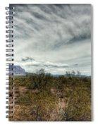 Morning In The Desert Spiral Notebook