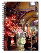Morning In The Grand Bazaar Spiral Notebook