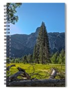 Morning In The Meadow Spiral Notebook