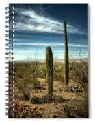 Morning In The Sonoran Desert Spiral Notebook