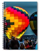 Morning Inflation Spiral Notebook