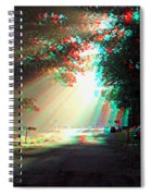 Morning Light - Use Red-cyan 3d Glasses Spiral Notebook