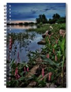 Morning Light Along The Shore  Spiral Notebook