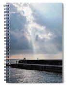 Morning Light At The Cobb Spiral Notebook