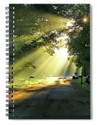 Morning Light Spiral Notebook