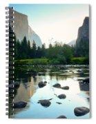 Morning Light On El Capitan Spiral Notebook
