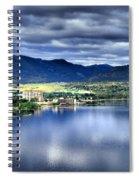 Morning Light On Okanagan Lake Spiral Notebook