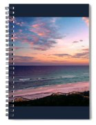 Morning Light On Rosemary Beach Spiral Notebook