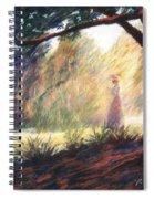 Morning Meditation Spiral Notebook