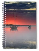 Morning Mist - Florida Sunrise Spiral Notebook