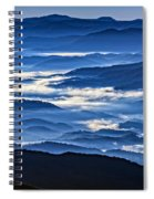 Morning Mist In The Smokies Spiral Notebook