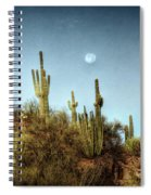 Morning Moon  Spiral Notebook
