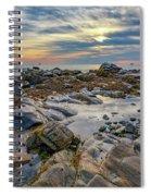 Morning On Casco Bay Spiral Notebook