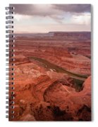 Morning On Dead Horse Point Spiral Notebook
