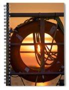 Morning On Deck  Spiral Notebook