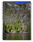 Morning On Grand Lake Spiral Notebook