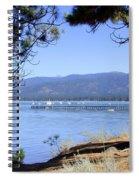 Morning On Lake Tahoe Spiral Notebook