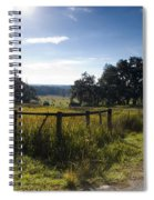 Morning On The Farm Spiral Notebook