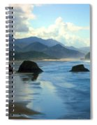 Morning On The Oregon Coast Spiral Notebook