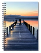 Morning Pier Spiral Notebook