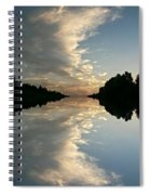 Morning Reflections Spiral Notebook