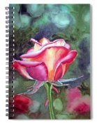 Morning Rose Spiral Notebook