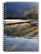 Morning Shadows Spiral Notebook