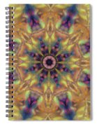 10300 Morning Sky Kaleidoscope 01a Spiral Notebook