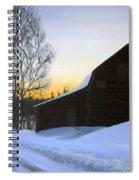 Morning Solitude Spiral Notebook