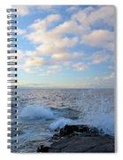 Morning Splash Spiral Notebook