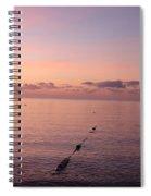 Morning Sunrise 09-02-18 # 3 Spiral Notebook