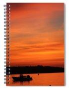 Morning Sunrise 09-02-18 Spiral Notebook