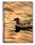 Morning Swim Spiral Notebook