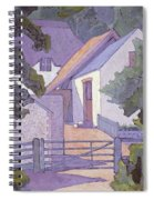 Morning, The South Downs By Robert Polhill Bevan Spiral Notebook