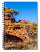 Morning To The Kings Canyon Rim - Northern Territory, Australia Spiral Notebook