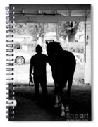 Morning Walker Spiral Notebook