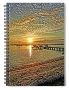 Mornings Embrace Spiral Notebook